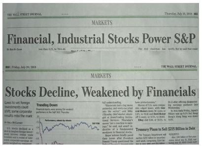 WSJ headlines